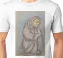 Wise Woman Scribble Drawing Unisex T-Shirt