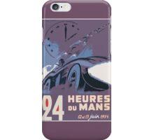 LeMans Classic 1954 iPhone Case/Skin