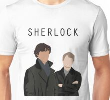 Sherlock and John Art Shirt Unisex T-Shirt