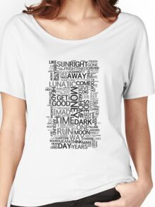 DSotM Word Cloud Women's Relaxed Fit T-Shirt