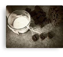 biscuits of the beast Canvas Print