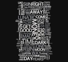 Dark Side of the Moon word cloud by ssan