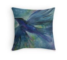 Ode to Robin Throw Pillow