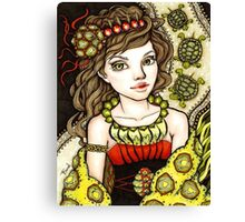 Tortoise Clan Canvas Print