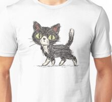 Rough sketch of a cat Unisex T-Shirt
