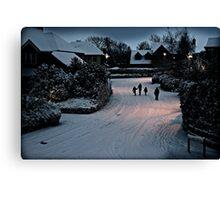 Winter Stroll Canvas Print