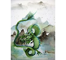Chinese Earth Dragon Photographic Print