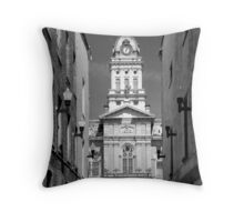 Courthouse Throw Pillow