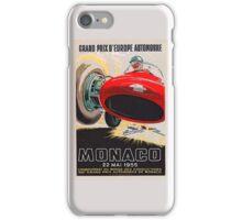 Monaco Classic 1955 iPhone Case/Skin