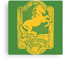 Prancing Pony Canvas Print