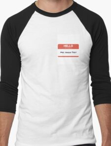 mrs aaron tveit Men's Baseball ¾ T-Shirt