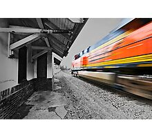 Time Flashes By Photographic Print