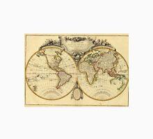Old Fashioned World Map (1782) Unisex T-Shirt