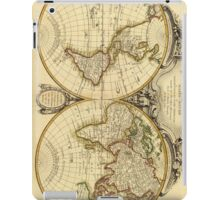 Old Fashioned World Map (1782) iPad Case/Skin
