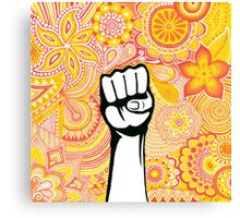 Let's fight !  Canvas Print