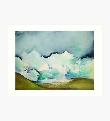 Ocean of Clouds Art Print