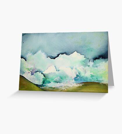 Ocean of Clouds Greeting Card