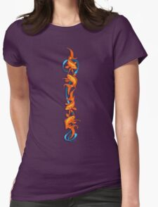 RIBBON FISH Womens Fitted T-Shirt