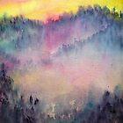 Misty Wood by Shoshanna Bauer