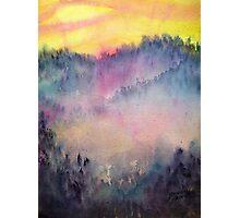 Misty Wood Photographic Print