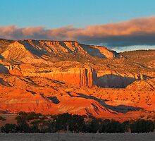 Sandstone at Ghost Ranch, Abiquiu New Mexico by outcast1