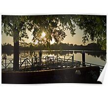 Sunrise Over the Manning, Taree Poster