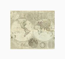 Vintage Map of The World (1787) Unisex T-Shirt