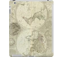 Vintage Map of The World (1787) iPad Case/Skin