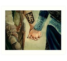 Outlaw Queen Art Print