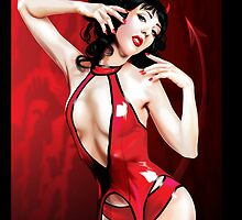 Sexy Red Devil (iPhone Cover) by Brian Gibbs