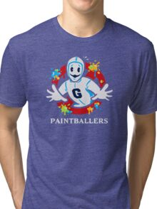 Paintballers Tri-blend T-Shirt