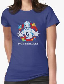Paintballers Womens Fitted T-Shirt