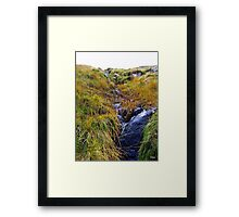 Waterfall in Ireland Framed Print