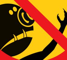 WARNING TROLLS Sticker