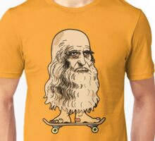 Leonardo Skateboard Unisex T-Shirt