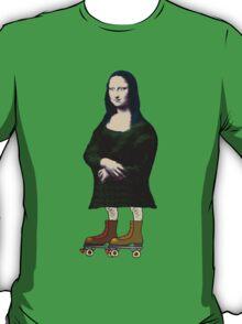 Mona Lisa Roller Skater T-Shirt
