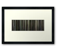 Moviebarcode: Beginners (2010) Framed Print