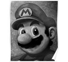 Portrait of an Italian Plumber Poster