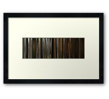 Moviebarcode: Zombieland (2009) Framed Print