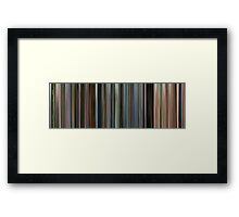 Moviebarcode: The Constant Gardener (2005) Framed Print