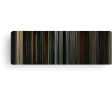 Moviebarcode: 28 Days Later (2002) Canvas Print