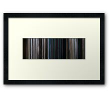 Moviebarcode: 28 Weeks Later (2007) Framed Print