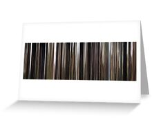 Moviebarcode: The Mill and the Cross (2011) Greeting Card