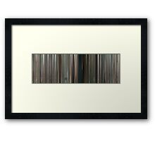 Moviebarcode: District 9 (2009) Framed Print