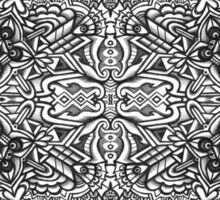 Abstract Symmetry 002 Sticker