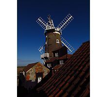 Cley Windmill, Norfolk (2) Photographic Print