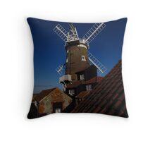 Cley Windmill, Norfolk (2) Throw Pillow
