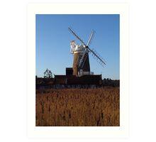 Cley Windmill, Norfolk Art Print
