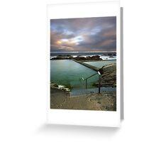 """To Swim By The Sea..."" ∞ Bermagui, NSW - Australia Greeting Card"