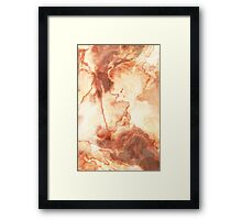 Tall Latte Framed Print